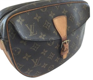 Louis Vuitton Brown Juene Fille Vintage Cross Body Bag