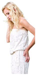 Tart Two Piece Lace Summer Lounge Top White