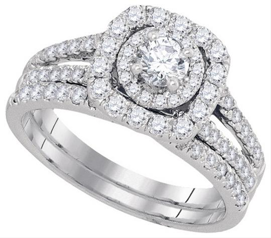 Preload https://item5.tradesy.com/images/white-gold-diamond-ladies-luxury-designer-14k-150-cttw-round-fashion-set-engagement-ring-1714034-0-0.jpg?width=440&height=440