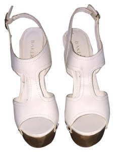 Bakers White Platforms