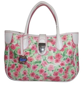 Dooney & Bourke Floral Summer Spring Vacation Tote in Multi
