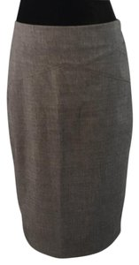 New York & Company Skirt Gray Grey