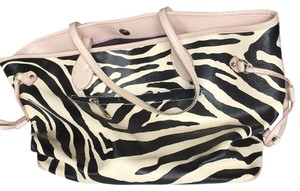 Not maked Tote in Zebra, Black, Cream And Pink