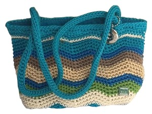 The Sak Knit Multi Color Beach Vacation Shoulder Bag