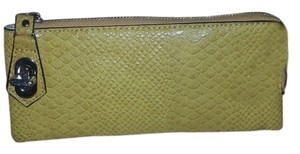 Other Turnlock Croc Print Wallet