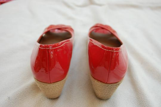 Franco Sarto Watermelon Pink/Red Wedges Image 3