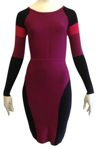BCBGMAXAZRIA short dress Multi (red) Red Bodycon on Tradesy