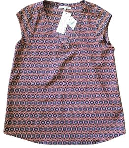Daniel Rainn Polyester Pet And Smoke Free Sleeveless Top Navy