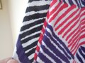 Calvin Klein short dress White w/Red Black Purple Fully Lined Stripes Rounded Neckline Zipper Close Pockets on Tradesy Image 5