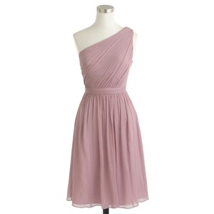 J.Crew Dusty Thistle (mauve) Kylie Dress Tailored To About A 6 Tall Dress