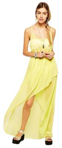 Yellow Maxi Dress by ASOS High-low