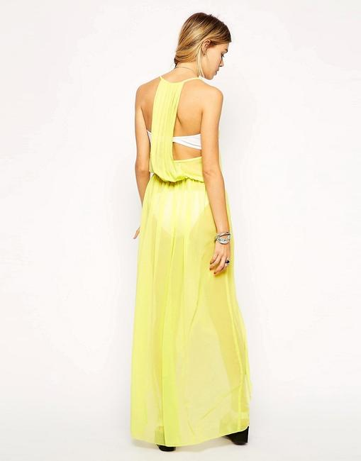 Yellow Maxi Dress by ASOS High-low Image 2