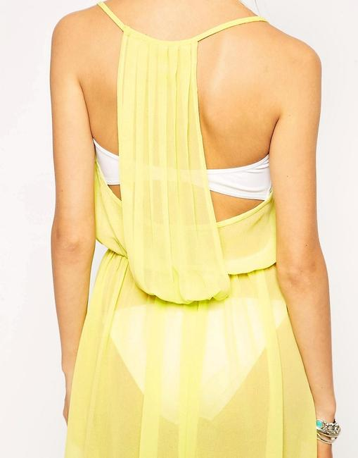 Yellow Maxi Dress by ASOS High-low Image 3