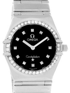 Omega Omega Constellation My Choice Ladies Diamond Watch 1475.51.00