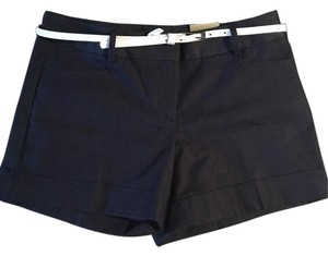 Express Cuffed Shorts Navy