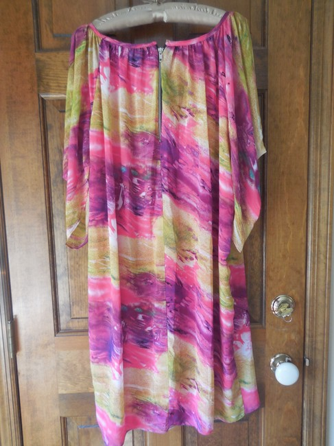 Jay Godfrey Plus-size Made In Usa Fully Lined Comfortable Cold Shoulder Dress