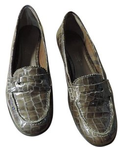 Aquatalia by Marvin K. Weatherproof grey Flats