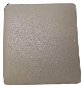 Cline Celine iPad Case in Taupe; Tumbled Leather- BRAND NEW with tag
