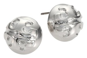 Tory Burch New Small Domed Stud Earring