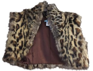 Marciano Fur Cropped Vest