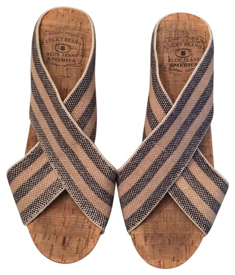Preload https://item5.tradesy.com/images/lucky-brand-navy-tan-stripes-wedges-17145304-0-1.jpg?width=440&height=440