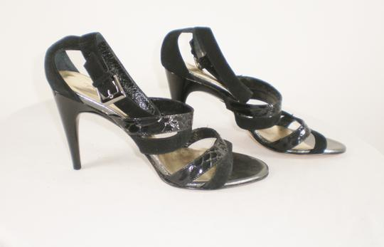 Kenneth Cole Suede Strappy Italy Black Sandals Image 3