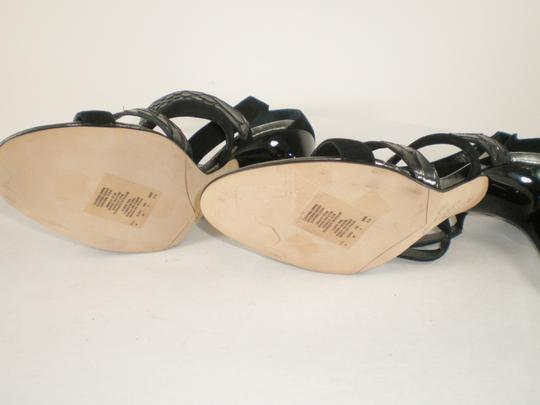 Kenneth Cole Suede Strappy Italy Black Sandals Image 7