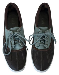 Keds Nautical Water-resistant Brown and Teal Athletic