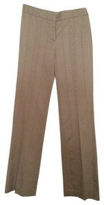 Elie Tahari Happy Hour Office Boot Cut Pants Champagne