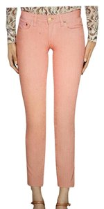 Tory Burch Capri/Cropped Denim-Light Wash