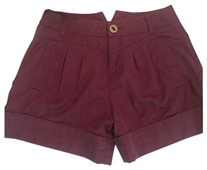 Marc by Marc Jacobs Cuffed Shorts Maroon