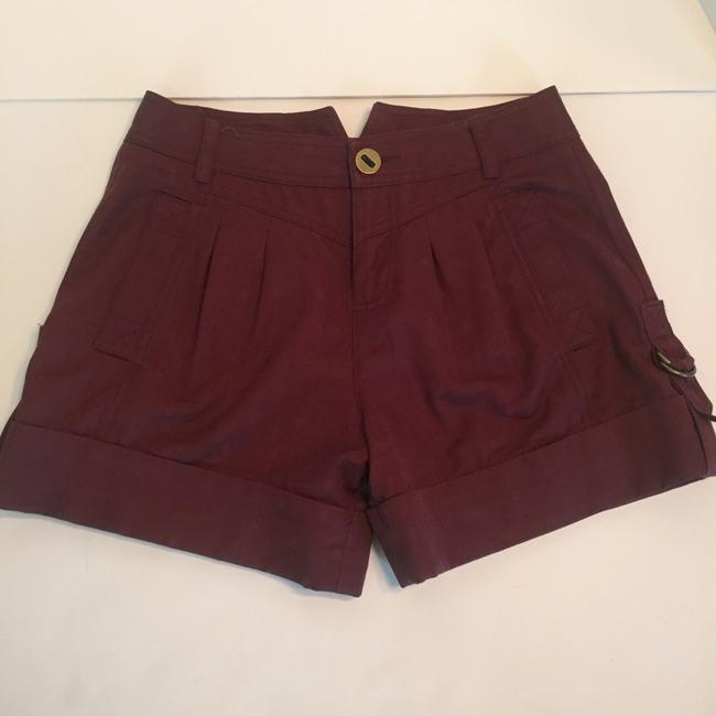 Marc by Marc Jacobs Cuffed Shorts Maroon Image 1