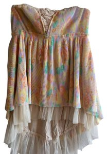 Free People Dressy Vintage Tube Top Sherbert