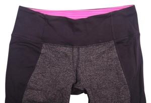 Lululemon RARE Wunder Under Pant Herringbone Colorblock