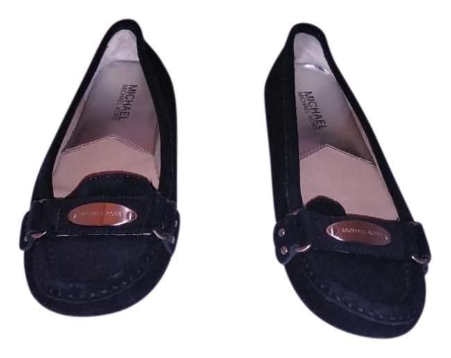 Item - Black Suede Moccasin Medium Womens Flats Size US 5 Regular (M, B)