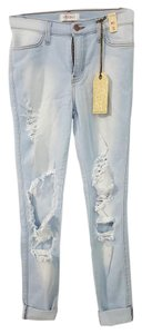Vibrant M.I.U Skinny Jeans-Light Wash