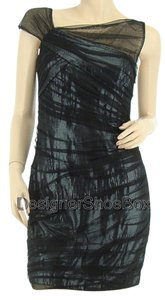 Cynthia Steffe Designer Mesh Sequins Cocktail Us 4 Dress
