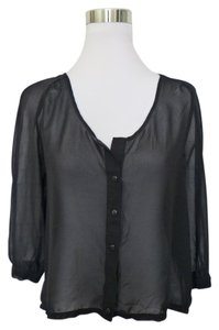 Sparkle & Fade Top Black