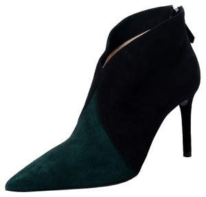 Prada Black & Forest Green Boots