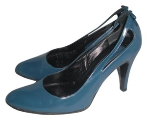 Marc Jacobs Patent Leather Blue Pumps
