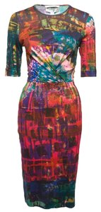 ERDEM short dress Multicolor Jersey Print Fall Spring on Tradesy