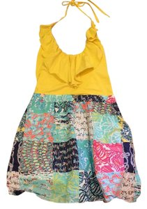 Lilly Pulitzer short dress Yellow Sailor Patch on Tradesy