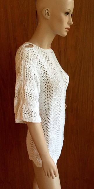 Other Crochet Vintage Knit Tunic Sweater Image 1