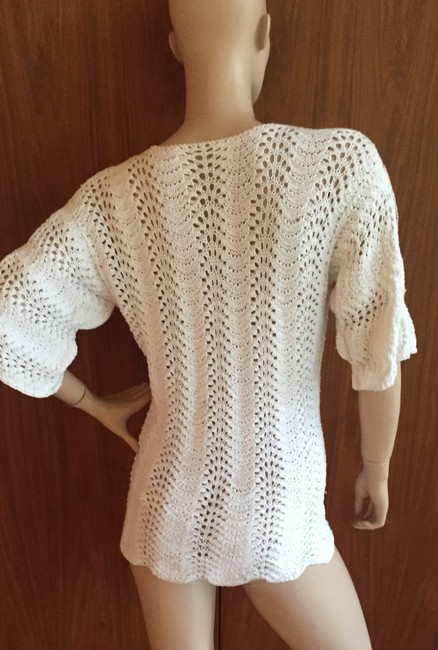 Other Crochet Vintage Knit Tunic Sweater Image 3