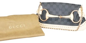 Gucci Black and Tan Clutch