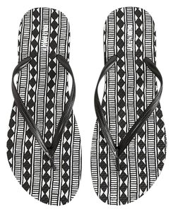 Old Navy Black/White Sandals