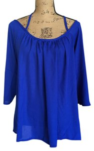 Makiyo Boutique Top Royal Blue