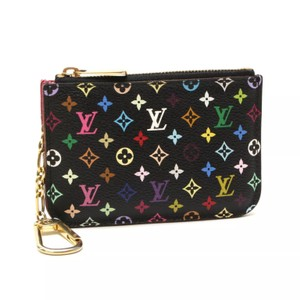 Louis Vuitton Louis Vuitton Black Multicolored Cles