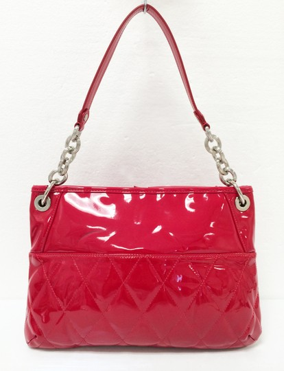 Coach Patent Leather Large Poppy 18678 Cross Body Bag Image 11