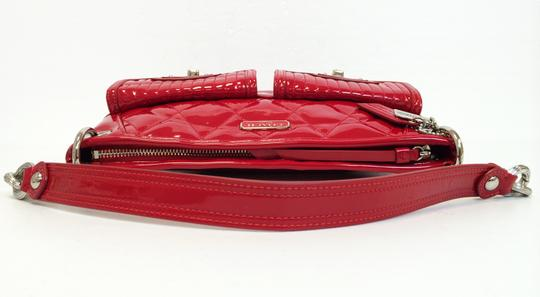 Coach Patent Leather Large Poppy 18678 Cross Body Bag Image 5